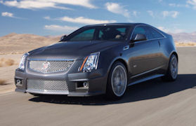 2011 Cadillac CTS-V (Photo courtesy of GM)